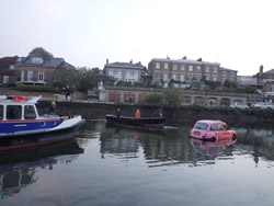 CPBS boats assist in filming the Taxi stunt at Richmond Sept 2014